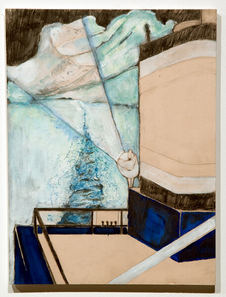 Hossein Ghaemi The infinite turn of an ana', 2009; gouache, pencil and watercolour on paper; 38 x 28 cm; enquire