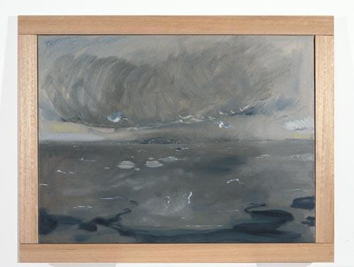 Linda Marrinon Oil Slick at Sorrento, 1996; oil on canvas; 62 x 46 cm; enquire
