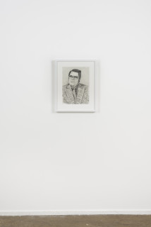 installation view; Callum Morton Monster's Ball #1, 2020; pencil on paper; 56.5 x 45 cm; enquire