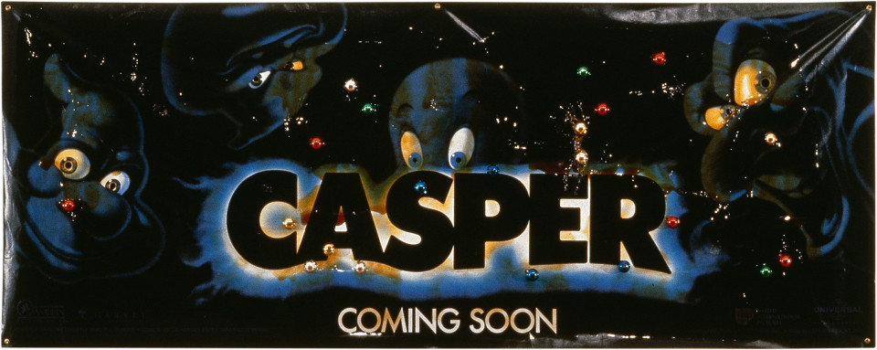 Dale Frank Casper, 1997; varnish and glass balls on printed vinyl; 119 x 306 cm; enquire