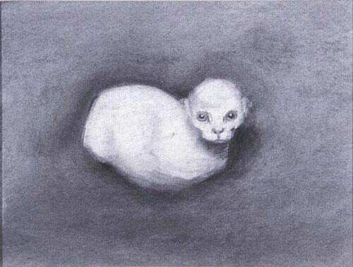 Louise Hearman Untitled #  965, 2003; pastel on paper; 22 x 29 cm; enquire