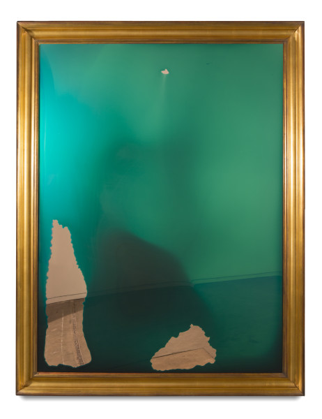 Dale Frank I am sure we will get along, 2014; varnish on perspex; 180 x 140 cm; enquire