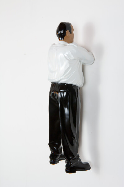 Michael Parekowhai Kapa Haka (maquette), 2015; automotive paint on polyurethane; 41 x 17 x 13 cm; Edition of 100; enquire