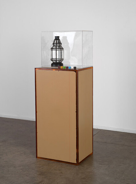 Hany Armanious Power nap, 2013; cast pigmented polyurethane resin; 140 x 50 x 40 cm; Edition of 2 + AP 1; enquire