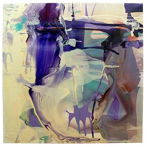 Dale Frank Ultima Thule Brachydactylic Brain Drain Dead Shot, 2007; varnish on canvas; 180 x 180 cm; enquire