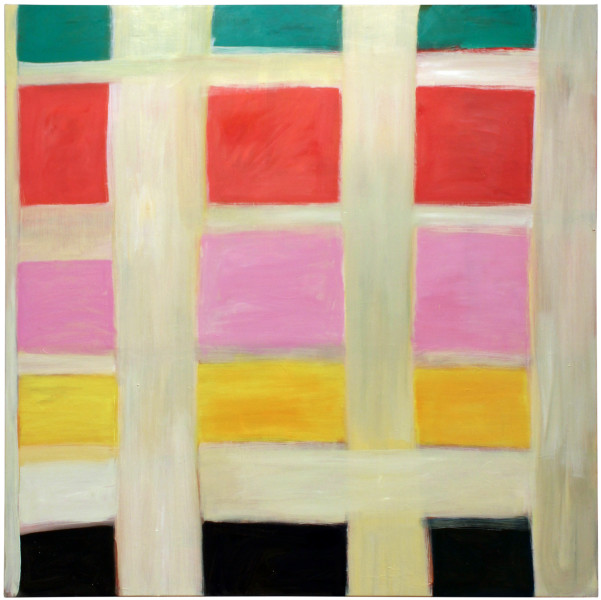 Angela Brennan Infinity plus Four, 2011; oil on linen; 152 x 152 cm; enquire