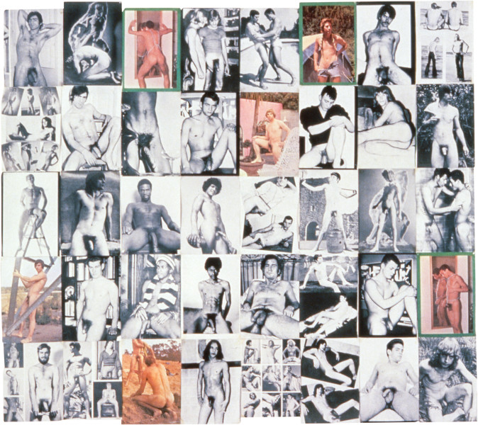 Dale Frank Just Great Guys 3, 1996-97; Arranged and selected pages (1972); 150 x 166 cm; enquire