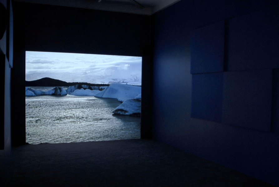 Isaac Julien True North, 2004; single screen projection 16mm film, black & white / colour film DVD transfer. Sound; Duration: 14 min 13 secs; Edition of 10; enquire