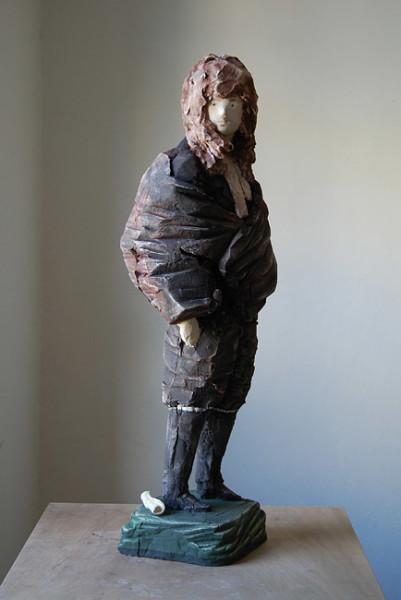 Linda Marrinon Voltaire, 2010; painted plaster ; 81 x 25 x 32 cm; enquire