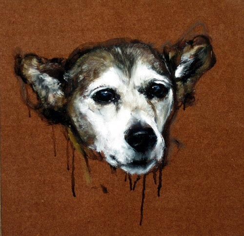 Louise Hearman Untitled #1153, 2005; oil on masonite; 32 x 33 cm; enquire