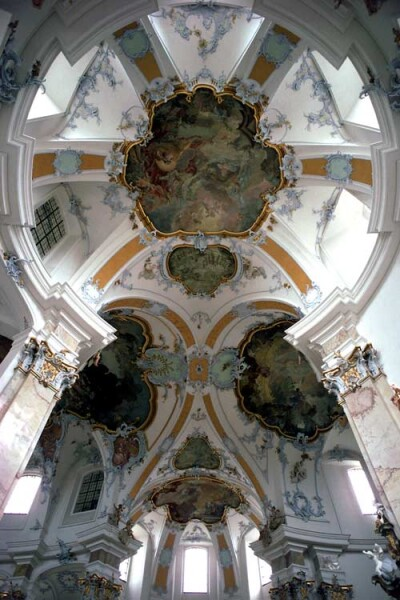 Harry Seidler Viezehnheiligen, 1989; from the series Architect: Balthasar Neumann, completed 1750; 106.5 x 71 cm (image size) 125 x 95.5 cm (frame size) edition of 6; enquire