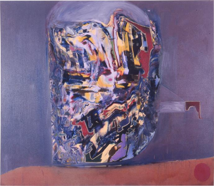 Gareth Sansom Face II, 1988; oil and enamel on linen; 198.1 x 228.6 cm; enquire