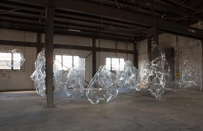 Mikala Dwyer The Hollows, 2014; PETG; enquire