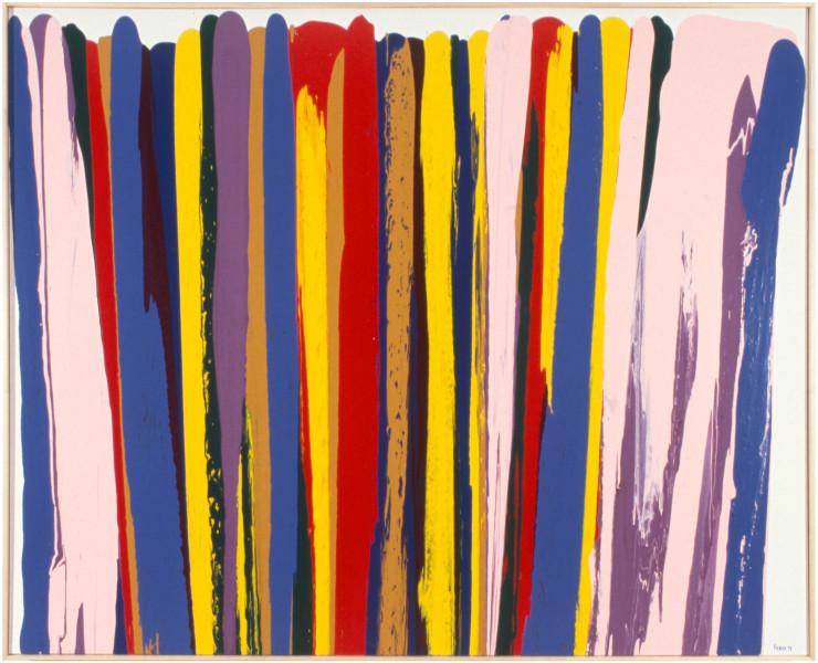 Dale Frank White Fang, 1998; acrylic on linen; 190 x 240 cm; enquire