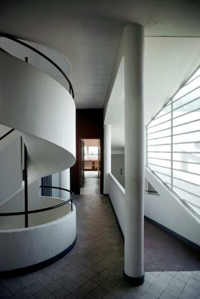 Harry Seidler Poissy, Villa Savoie (interior), 1978; from the series Architect: Le Corbusier, completed 1929; 106.5 x 71 cm (image size) 125 x 95.5 cm (frame size) edition of 6; enquire