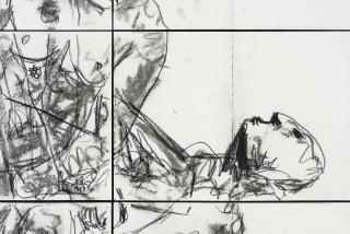Pierre Mukeba (INTIMACY)ASH) (detail), 2021; charcoal on archival paper; 90 x 126 cm; enquire