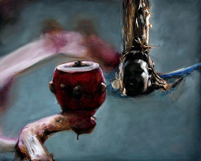 Louise Hearman Untitled #1301, 2009; oil on masonite; 61 x 76 cm; enquire