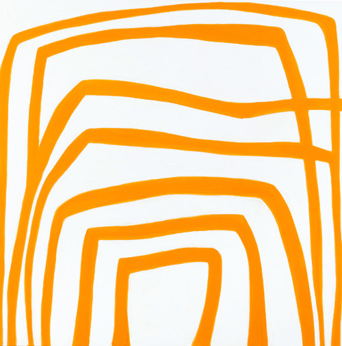 Angela Brennan Cadmium Yellow Deep, 2005; oil on linen; 180 x 180 cm; enquire