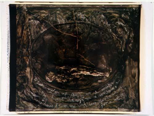 Fiona Hall Book III: Geography, 1991; Polaroid photograph; 53 x 68 cm; enquire