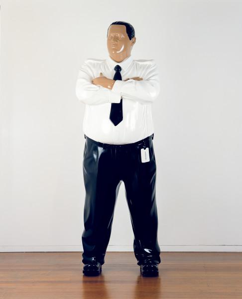 Michael Parekowhai Kapa Haka, 2003; automotive paint on fibreglass ; 188 x 68 x 42 cm; enquire