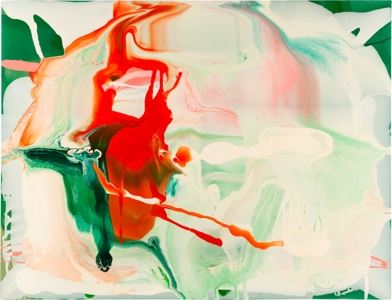 Dale Frank 7. Twenty nine paintings were suppose to say something through their titles if not through their reason for being; twenty nine went onto the truck. Out of how many, seventy, well, forty six. Others could not be counted. But one was an actor, so there were really only twenty eight., 2009; varnish on canvas; 200 x 260 cm; enquire