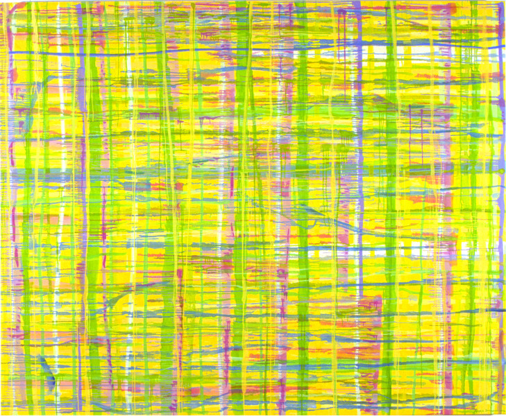 Angela Brennan Here and now (1), 2002; Oil on linen; 168 x 198 cm; enquire