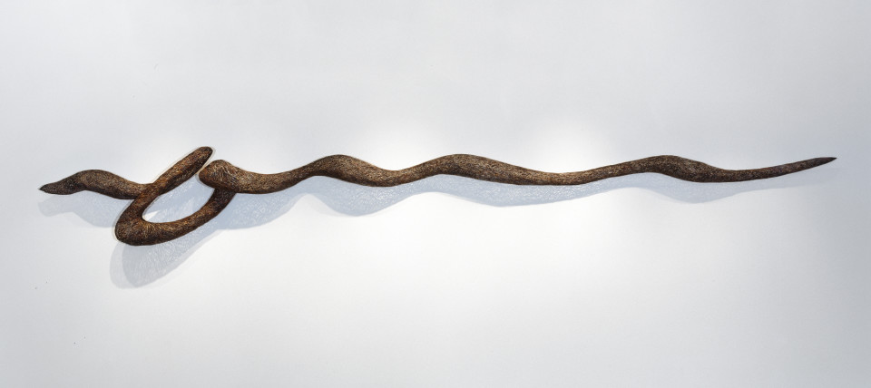Bronwyn Oliver Tide, 2000; Copper; 400 cm; enquire