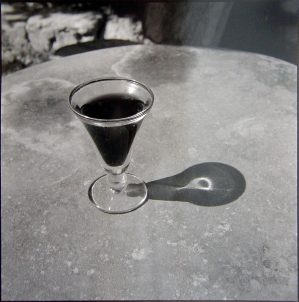 Bill Culbert Small glass pouring Light, France, 1997; silver gelatin prints; 40.5 x 40.5 cm; Edition of 25; enquire