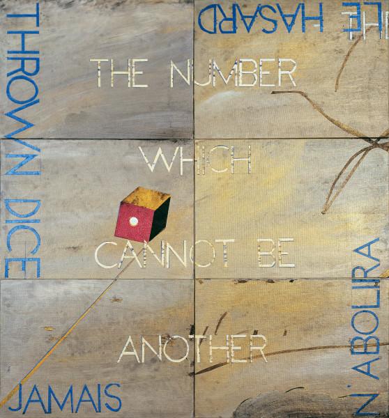 Imants Tillers Metaphysical Detail VI, 2017; acrylic, gouache on 6 canvas boards. no. 93611 - 93616; 75.5 x 71 cm; enquire