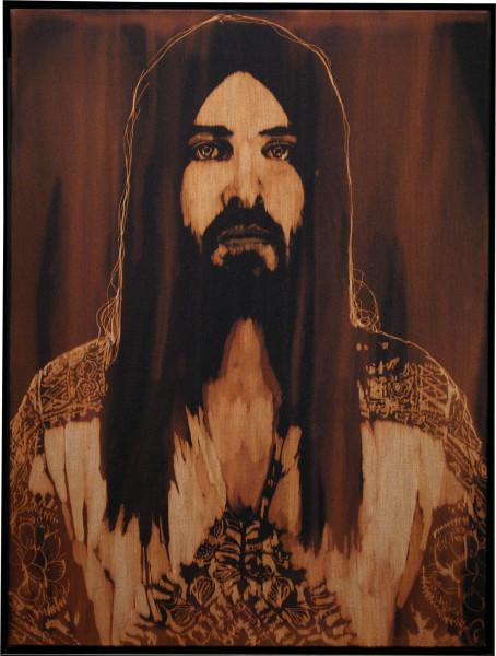 David Noonan Untitled, 2005; fabric painting; 63.5 x 48 x 6.5 cm; enquire