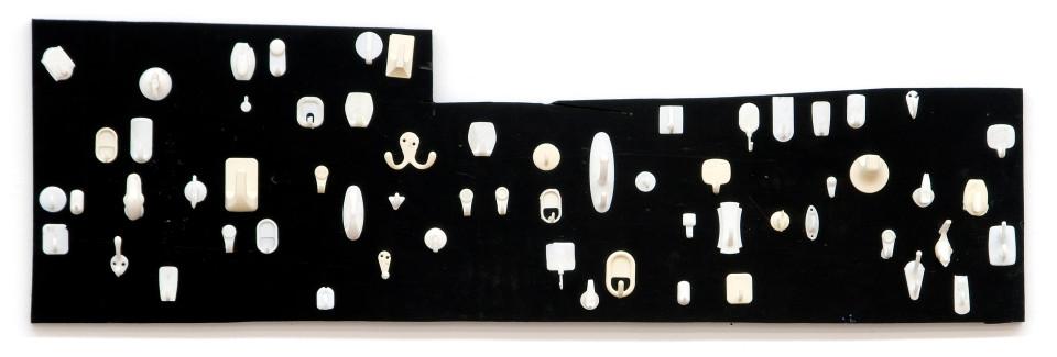 Hany Armanious Gentlemen's Club, 2006; polyurethane on form ply; 43 x 141 x 7 cm; enquire