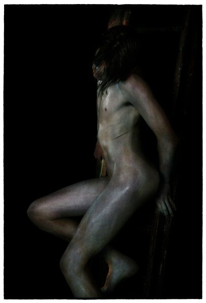 Bill Henson Untitled, 2013-14; LS SH542 N21; archival inkjet pigment print; 180 x 127 cm; Edition of 5 + 2 AP; enquire