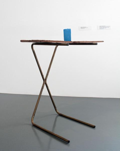 Hany Armanious Relative Nobody, 2010; cast pigmented polyurethane resin, bronze; 114 x 89 x 66 cm; enquire