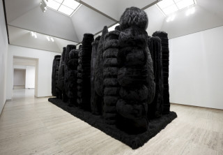 Kathy Temin My Monument: Black Garden, 2010-11; synthetic fur, wood, steel and synthetic filling; 365 x 800 x 300 cm; photo: Mim Sterling; enquire