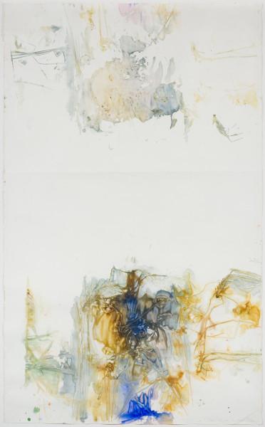 John Wolseley Lagoon – Durabudboi river, 2014-18; watercolour on paper; 228.5 x 140 cm; Enquire