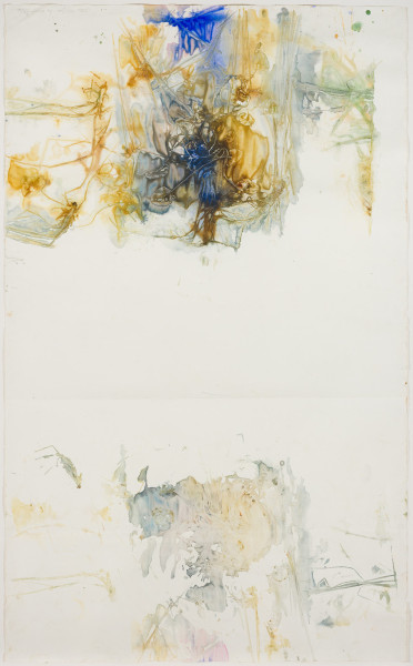John Wolseley Lagoon – Durabudboi river, 2014-18; watercolour on paper; 156.5 x 244.5 cm; enquire
