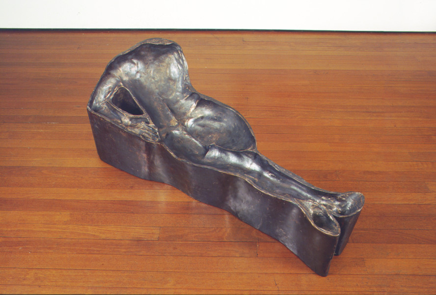 Julie Rrap Untitled (after Manet's 'Olympia'), 2002; bronze; 1 piece; 58 x 135 x 55 cm (overall); Edition of 3; enquire