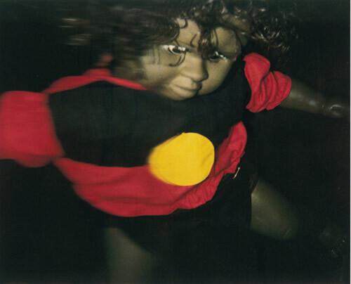 Destiny Deacon Dance Little Lady (a), 1994-00; Photograph; 56 x 70 cm; 76 x 90 cm (paper size), set of 4 images; Edition of 15; enquire