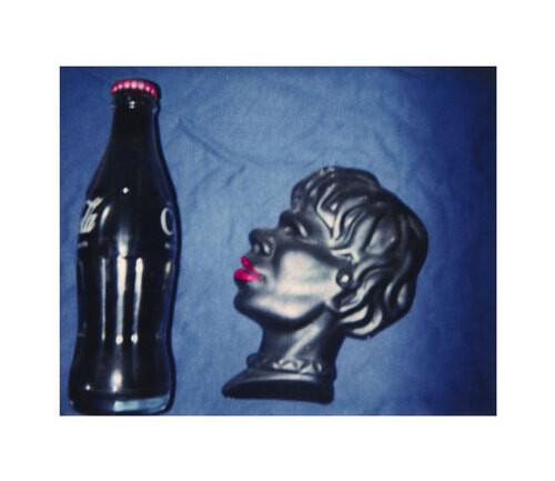 Destiny Deacon Blak 'n blue, 1994-03; light jet print from Polaroid original; 80 x 100 cm; Edition of 15; enquire