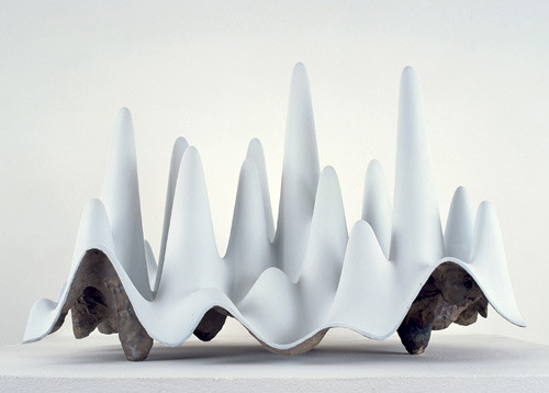 James Angus Mountains, Valleys, Caves, 2004; bronze and acrylic; 45 x 62.5 x 35 cm; Edition of 5 + AP 1; enquire