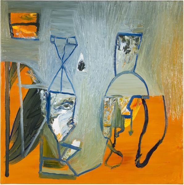 Gareth Sansom Contempt (Luc Godard), 2012; oil and enamel on linen; 60 x 60 cm; enquire