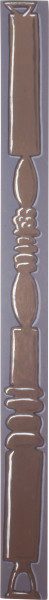 Tony Clark Pilaster Painting, 1995; acrylic on wood; 300 x 20 cm; enquire