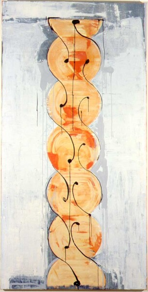 John Firth-Smith Move, 2001; Oil on linen; 8 ft x 4 ft; enquire
