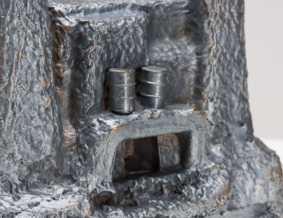 Fiona Hall Castles of Lost Destinies (detail), 2015; Cat no. 20; Bronze; 15 x 23 x 18 cm; enquire