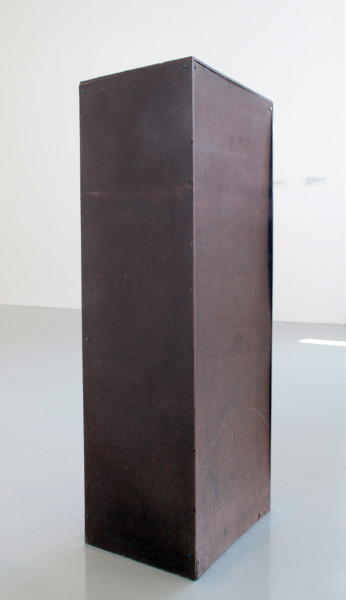 Hany Armanious Set and Setting, 2010; cast pigmented polyurethane resin; 92 x 36 x 25 cm; enquire
