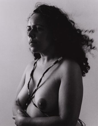 Fiona Foley Badtjala Woman B, 1994; Set of 3 images; Sepia photograph; 45 x 35 cm; Edition of 10; enquire