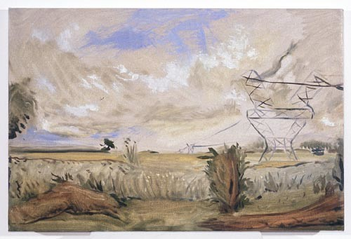 Linda Marrinon Hume Highway at Craigebourne, 1996; Oil on canvas; 61 x 41 cm; enquire
