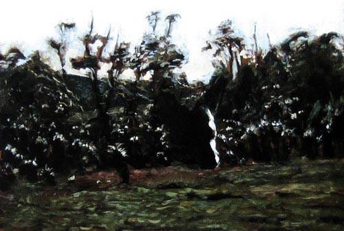 Louise Hearman Untitled #1129, 2005; oil on masonite; 61 x 92 cm; enquire