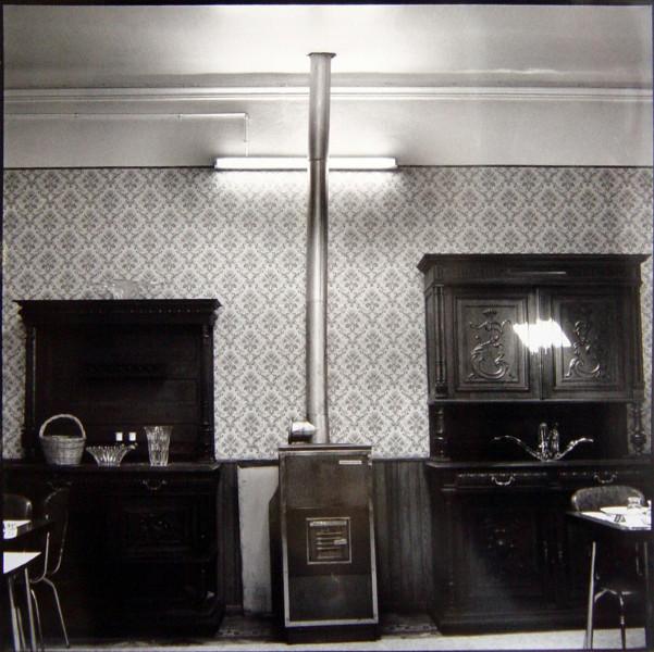 Bill Culbert Chimney Light, Les Geraniums, France, 1976; silver gelatin prints; 40.5 x 40.5 cm; Edition of 25; enquire
