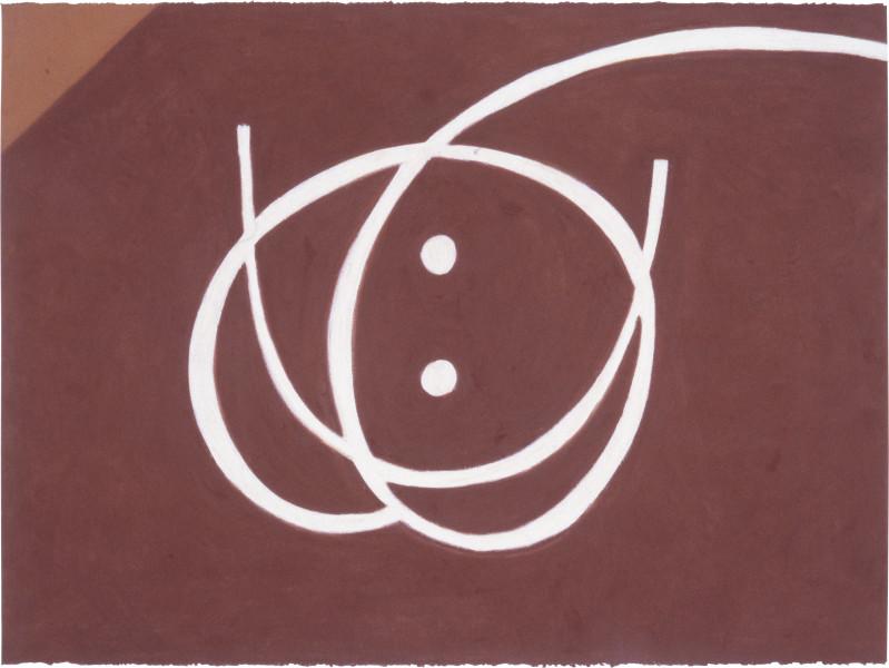 Fiona Foley Gunabibi 2, 1988; pastel on paper; 56.5 x 76.5 cm; enquire